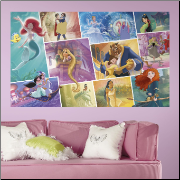 Disney Princess Storybook Peel and Stick Wall Mural