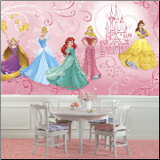 Disney Princess Enchanted XL Wall Mural
