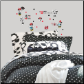 Classic Minnie Rocks the Dots Wall Decals
