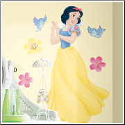 Snow White Giant Wall Decal