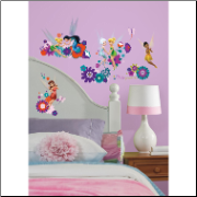 Disney Best Fairy Friends Wall Decals