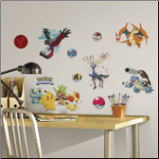 XY Pokemon Peel and Stick Wall Decals