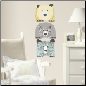 DwellStudio Bears Giant Wall Decals