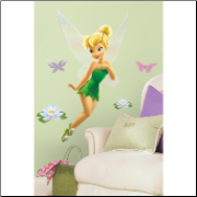 Tinker Bell Giant Glitter Wall Decal