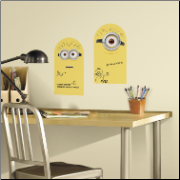 Despicable Me Dry Erase Minions Wall Decals