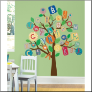 ABC Tree Mega Pack Decal Set - Primary Colors