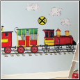 All Aboard Mega Pack Wall Decal Mural