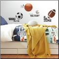 All Star Sports Wall Decals