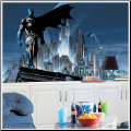 Batman XL Prepasted Wallpaper Mural
