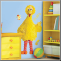 Big Bird Giant Wall Sticker