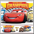 Disney Cars Piston Cup Champions Peel & Stick Wall Border