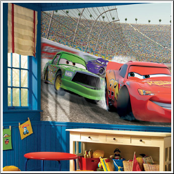 Disney Cars Giant Wall Mural