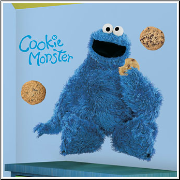Cookie Monster Giant Wall Sticker
