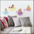 Disney Princess Floral Wall Decals