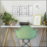 Dry Erase Board Calendar Wall Decals