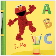 Elmo Giant Wall Sticker