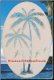 Palm Tree Static Cling Window Decal (Right)
