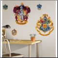 Hogwarts Crests Giant Wall Decal