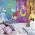 Disney Princess Scenes XL Wall Mural