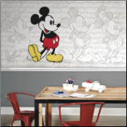 Classic Mickey Mouse XL Wall Mural