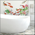 Koi Fish Giant Wall Decals