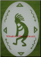 Kokopelli Window Decal - Right