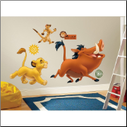 The Lion King Giant Timon and Pumbaa Wall Decals