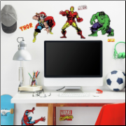 Marvel Heroes Classic Wall Decals
