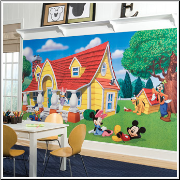 Mickey Mouse and Friends XL Prepasted Wallpaper Mural
