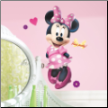 Minnie Mouse Bowtique Giant Wall Decals