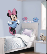 Minnie Mouse Giant Wall Decal