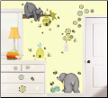 Patchwork Honey Peel and Stick Wall Decals