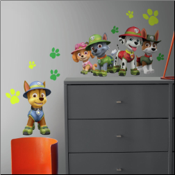 Jungle Paw Patrol Giant Peel and Stick Wall Decals