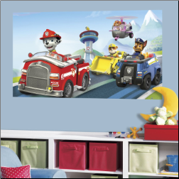 Paw Patrol Peel and Stick Wall Mural