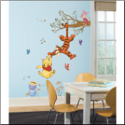 Pooh Swing for Honey Giant Wall Decals