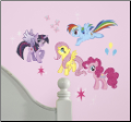 My Little Pony Peel and Stick Wall Decals