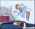Rainbow Dash Giant Peel and Stick Wall Decals