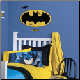 Batman Logo Giant Dry Erase Wall Decal