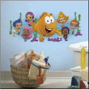 Bubble Guppies Giant Wall Graphix Decal