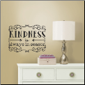 Kindness Quote Wall Decals