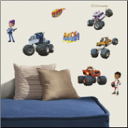 Blaze and the Monster Machines Wall Decals Set
