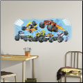 Blaze and Friends Giant Graphic Wall Decal