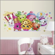 Shopkins Pals Giant Wall Decal
