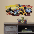Skylanders Superchargers Giant Wall Decal