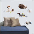 The Secret Life of Pets Boys Wall Decals