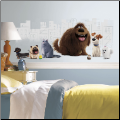 The Secret Life of Pets Giant Graphic Wall Decal
