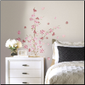 Pink Blossom Branch Giant Wall Decals