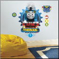 Thomas the Tank Racing Giant Wall Decals