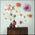 Lisa Audit Watercolor Blossom Giant Wall Decals