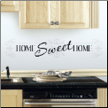Home Sweet Home Quote Wall Decals